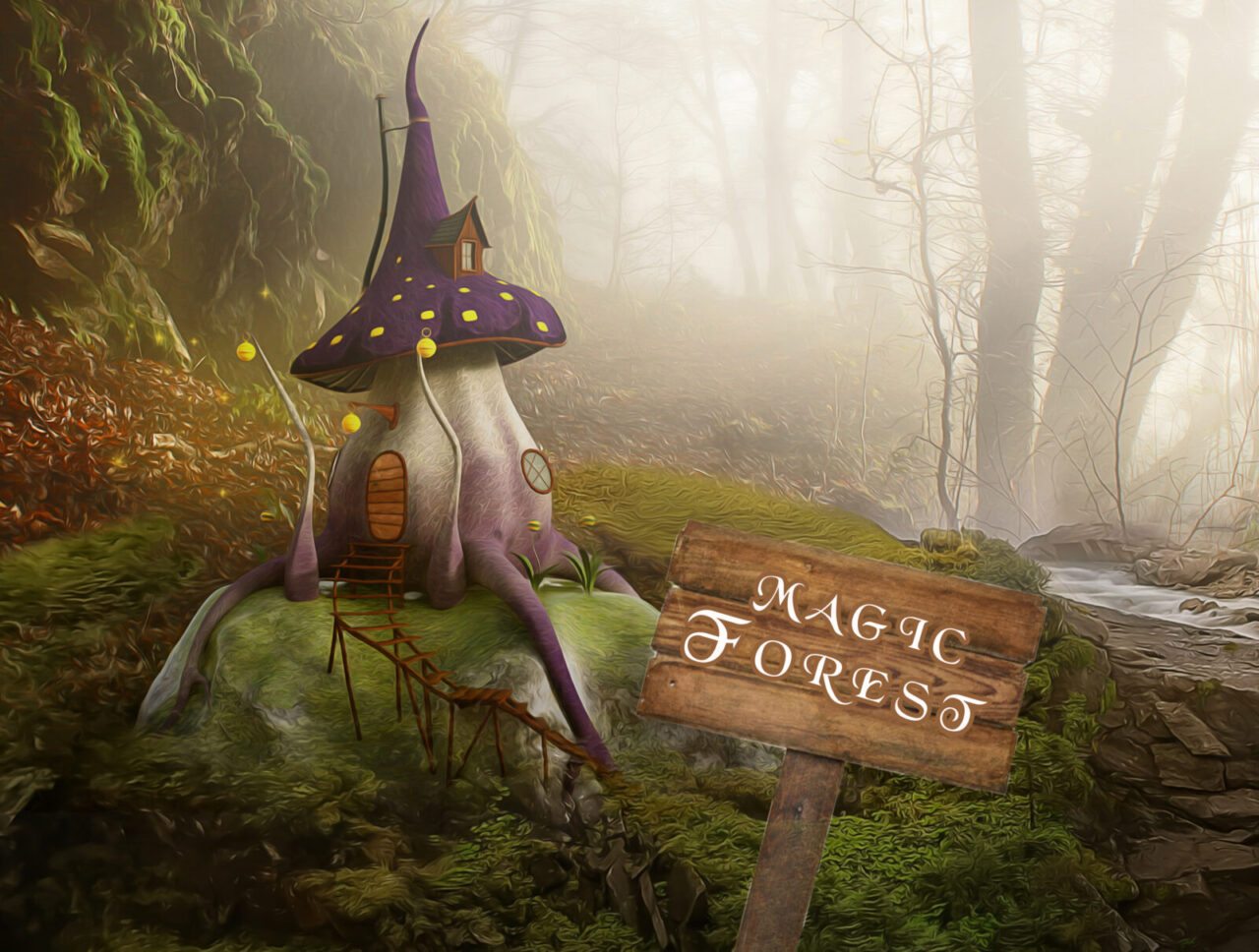 Magic forest - Escape room in Glasgow